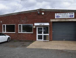 Office and workshop front in Bedford